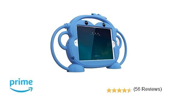 Estuche Mini para iPad CHINFAI, iPad Mini 2 / Mini 3 / Mini 4 Estuche, Estuche Lindo Mono para niños con Asas Soporte para Apple iPad 7,9 Pulgadas ...