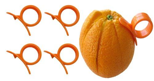 4 Round Citrus Fruit