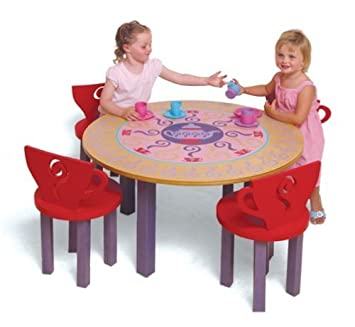 Amazon.com: Room Magic Table/4 Chairs Set, Teaset: Baby