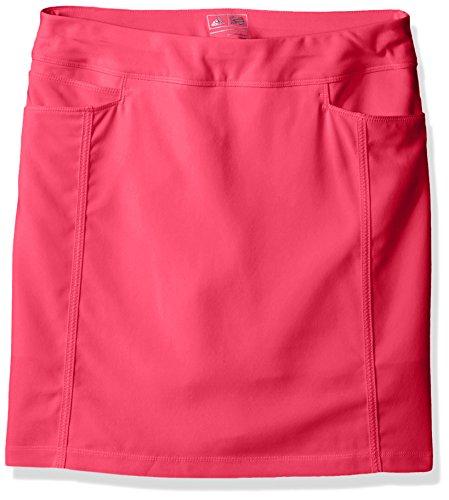 Skirt Skort Shirt - Adidas Women's Golf 2017 Ultimate 365 AdiStar Skort Large- Energy Pink