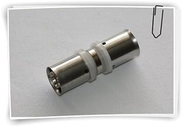 20mm 20mm pressf itting connecteur femelle transition PEX Tube composites en aluminium Manchon Tube Fittings