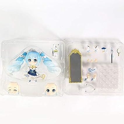 2019 Nendoroid 1000 Anime Hatsune Miku Snow Miku PVC Mini Figure New In Box