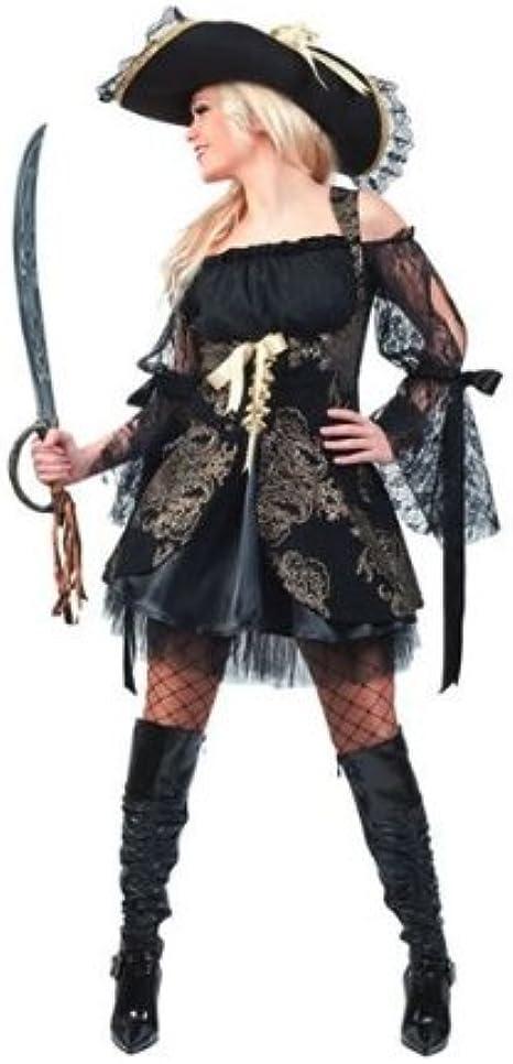 Disfraz de pirata chica: Amazon.es: Ropa y accesorios