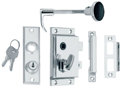 Perko Rim Lock St W/Blt-Flush Strik ()