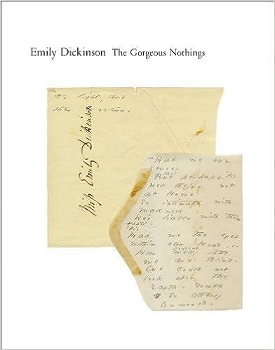 Amazoncom The Gorgeous Nothings Emily Dickinsons