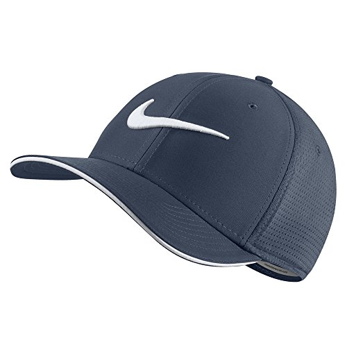 Nike Classic 99 Mesh Golf Cap 2017 Thunder Blue/White/Anthracite/White Medium/Large (Nike Classic Cap)