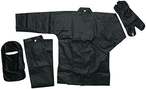 Ace Martial Arts Supply Black Ninja Uniform