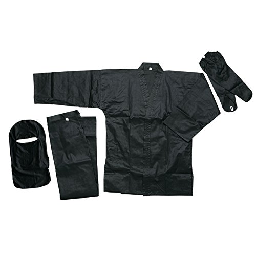 (Ace Martial Arts Supply Black Ninja Uniform (5))