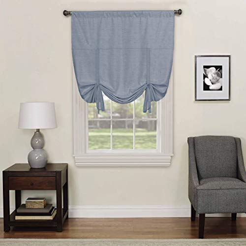 Eclipse Kendall Blackout Window Tie-up Shade, 42