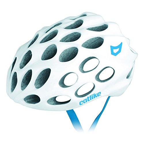 [해외]Catlike (라이크) WHISPER (위 스퍼) 0119051P 화이트 & 블루 ? 로고 LG 58-61cm / Catlike (cut-like) WHISPER (whisper) 0119051p White & Blue logo LG 58-61cm