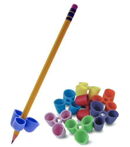 The Pencil Grip Writing CLAW for Pencils and Utensils, Small Size, 6 Count Assorted Colors (TPG-21106) by The Classics