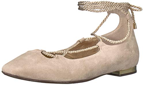 J.Renee Women's ZURINA Loafer Flat, Beige, 8 M US ()