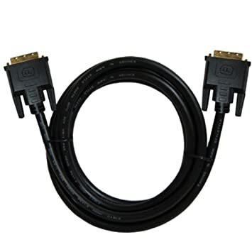 3.28ft // 6.56ft // 9.84ft // 16.41ft // 32.81ft Dual Link DVI-D Cable 24 1 Pin Black