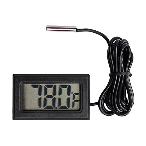 Qooltek Digital LCD Thermometer Temperature Gauge Aquarium for sale  Delivered anywhere in USA