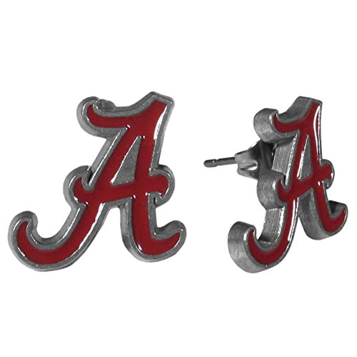 NCAA Alabama Crimson Tide Stud Earrings