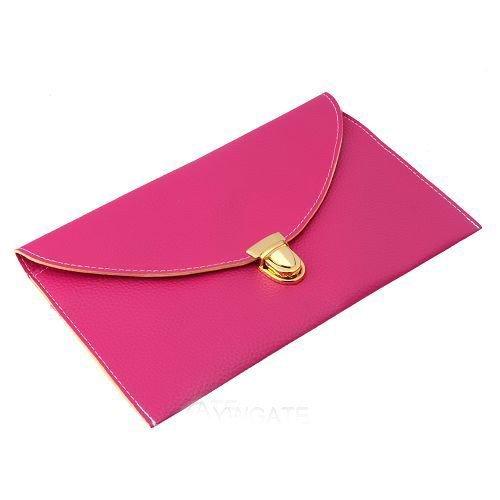 Gleader Donna borsa della busta catena borsa della signora borsa a spalla - Rose