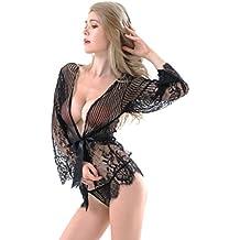 TOOPOOT 2018 Temptation Lingerie, Women Lace Sleepwear G-String Lingerie Bra Underwear Nightwear Set