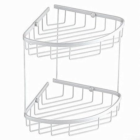 Bathroom Shelf Triangle Mesh Basket Bathroom Corner Baskets Corner Inspiration Baskets For Corner Shelves