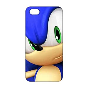 Slim Thin 3D Blue Sonic For HTC One M7 Phone Case Cover