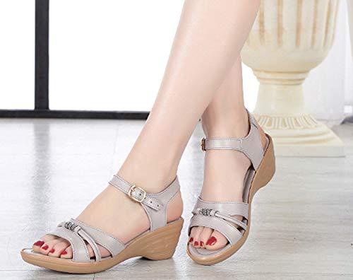 Pour Maman Aisun Chaussures Compens Femme Confort Talon gqxSpH