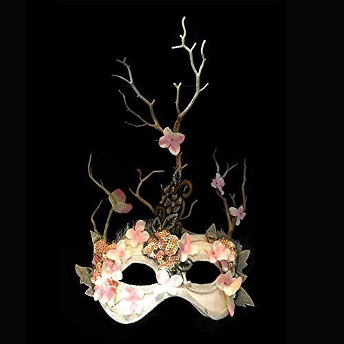 Scary Butterfly Costumes Makeup - GLPBH Masquerade Mask Halloween Masken Branch