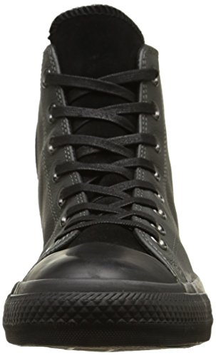 Converse Star Hi Leather Suede Sneaker,Unisex Adulto Storm Wind/Black