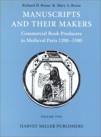 Manuscripts and Their Makers: v. 1: Commercial Book Producers in ...