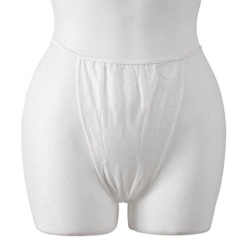 JMT Beauty White Disposable Brief, 60 Count