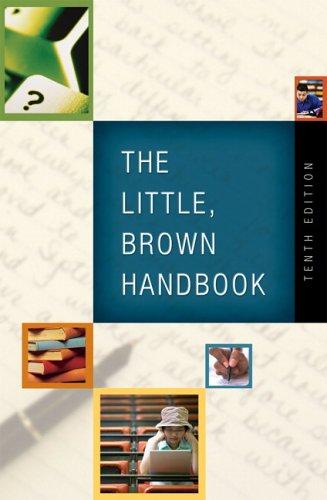 Little Brown Book - The Little, Brown Handbook