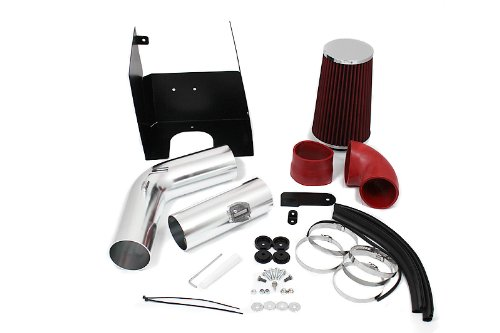 05 06 07 08 Ford F150 V8 5.4L Heat Shield Intake Red (Included Air Filter) #Hi-FD-2R by High performance parts