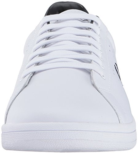 Leather Oxford Uomo Bianco B7211 Perry Scarpe Fred White Stringate nFAR4wZ