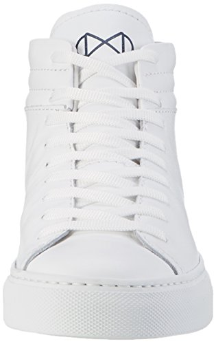 Nat-2 Unisex-adulto Elegante High-top Bianco (tutto Bianco)