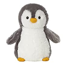 Aurora Grey Penguin Destination Nation 12-Inch Stuffed Animal