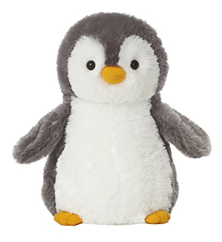 Aurora World Destination Nation Gray Penguin Plush, 12
