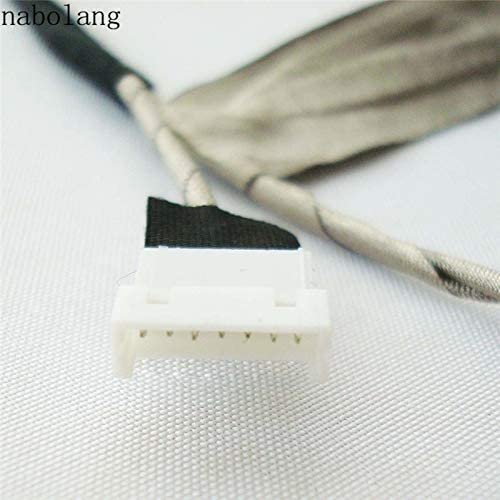 Computer Cables Yoton for Toshiba Satellite M300 M305 M300D M305D L310 Laptop LCD Screen Video Cable for Toshiba M300 LCD Video Flex Cable Cable Length: Other