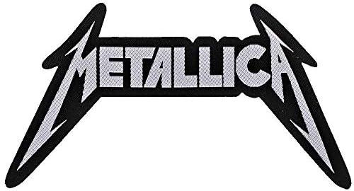 METALLICA - Logo cut out - Patch: Amazon.es: Ropa y accesorios