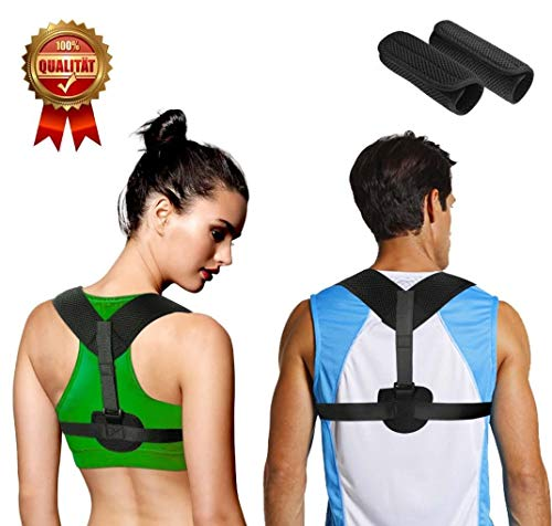 Kotl Back Posture Corrector for Women & Men - Effective and Comfortable Adjustable Posture Brace for Slouching & Hunching - Clavicle Support Brace - Discreet Design and Comfortable Material