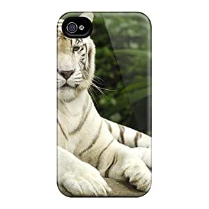 New Arrival Iphone 4/4s Case Tiger Panthera Tigris Singapore Case Cover