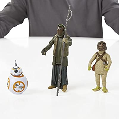 Star Wars The Force Awakens 3.75-Inch Figure 3-Pack Desert Mission BB-8, Unkar's Thug, and Jakku Scavenger: Toys & Games