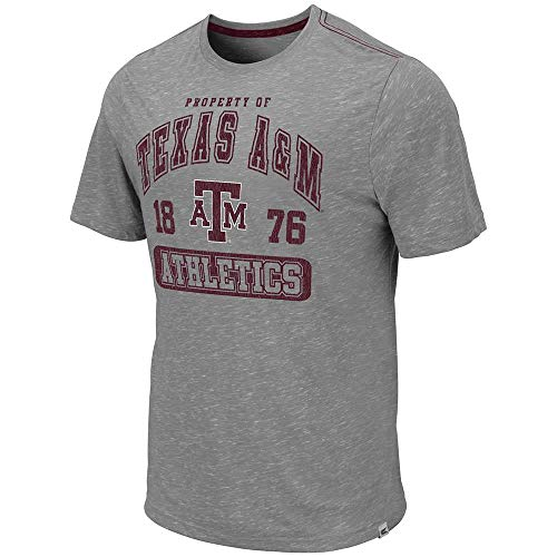 - Colosseum Mens Texas A&M Aggies Campinas Short Sleeve Tee Shirt - M