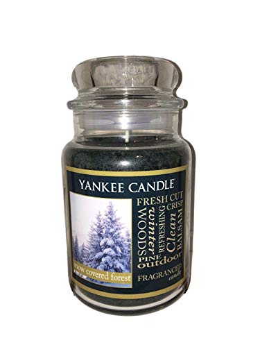 Yankee Candle Snow Covered Forest Large Jar Candle 22 oz