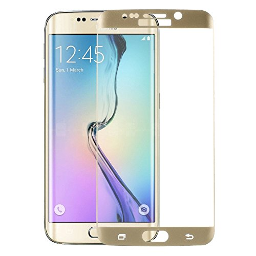 Tempered Protector s6edge plus gold