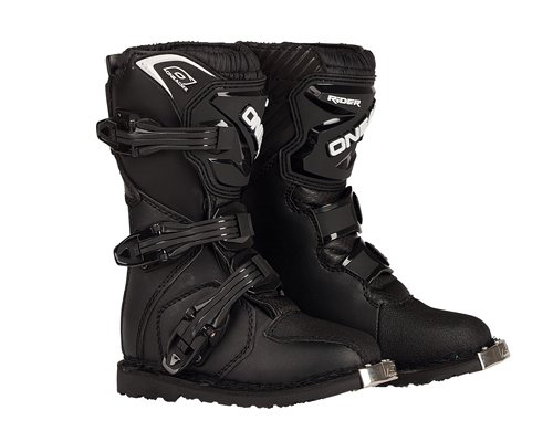 O'Neal Rider Boots (Black, Youth 12) by O'Neal (Image #1)