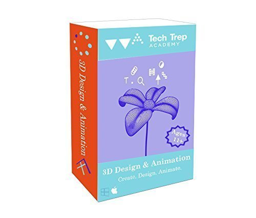 Price comparison product image 3D Design And Animation Online Course For Kids – Become A Professional Animator – By Tech Trep