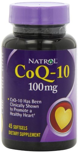 Natrol CoQ 10 100mg Softgels 45 Count