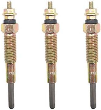 Glow Plug fits Hinomoto  E16 E18 E21 E23 E25 2401-8201-00