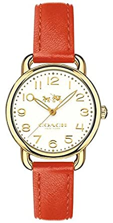 Coach Womens delancey orange Strap 14502710