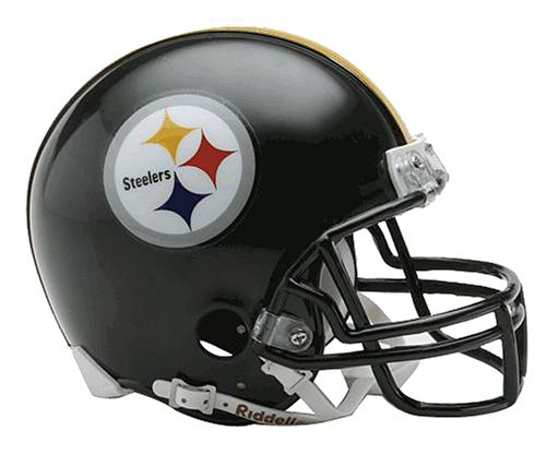 NFL Pittsburgh Steelers Replica Mini Football Helmet - Riddell Nfl Replica Mini Helmet