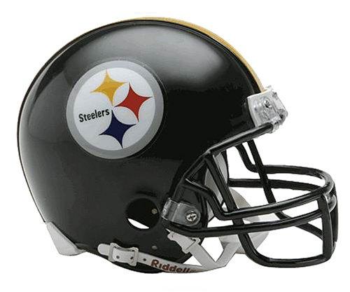 NFL Pittsburgh Steelers Replica Mini Football Helmet ()