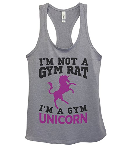 Womens Work Out Tanks Unicorn